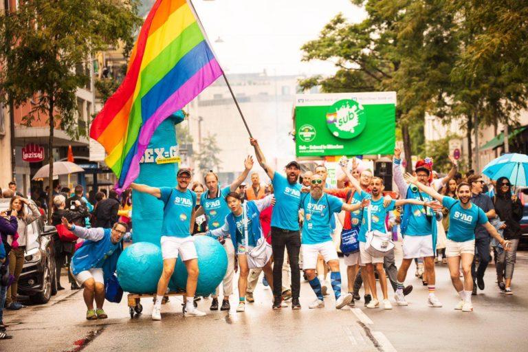 S'AG CSD München 2019 schwul pride Sub