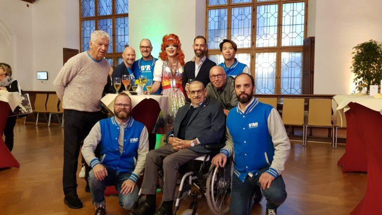Empfang Rathaus München Oberbürgermeister Ehrung Engagement LGBTIQ schwul