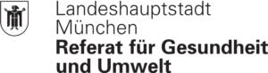 Logo Landeshaupstadt München Referat für Gesundheit und Umwelt