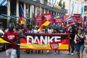 Refugees Rainbow Munich Sub CSD Gay Pride 2018 VI