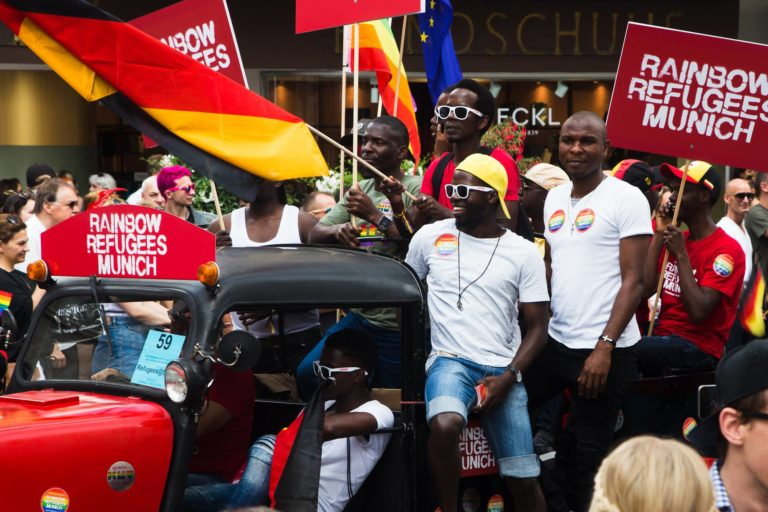 Refugees Rainbow Munich Sub CSD Gay Pride 2018 IV