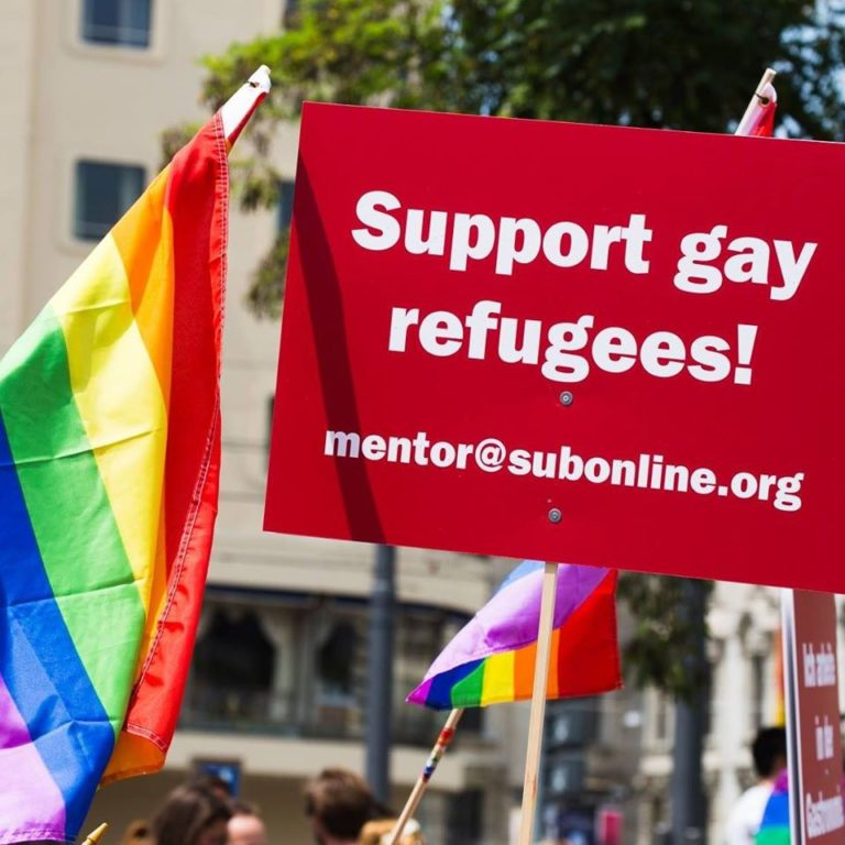 Refugees Rainbow Munich Sub CSD Gay Pride 2018 III