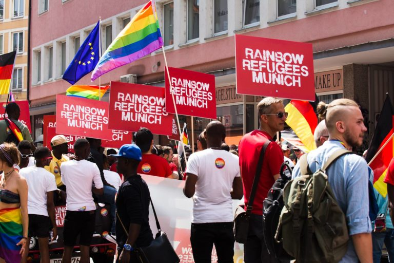 Refugees Rainbow Munich Sub CSD Gay Pride 2018