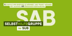 Logo Selbsthilfegruppe schwule und bisexuelle Männer und Trans*Männer mit Alkoholabhängigkeitserfahrung Sub schwul München